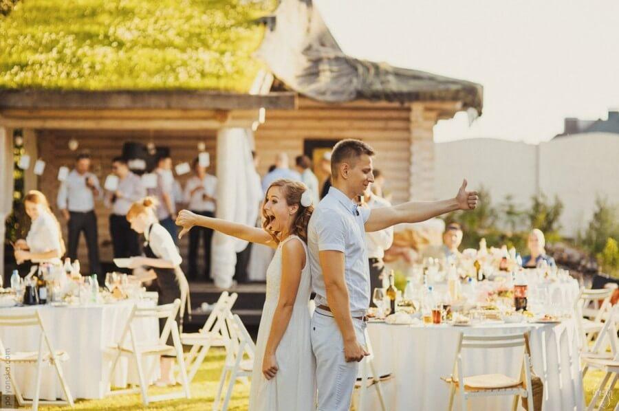 Свадьба в частном коттедже